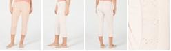 Style & Co Eyelet-Trim Capri Pants, Created for Macy's