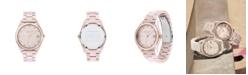 COACH Women's Preston Blush Ceramic Bracelet Watch 36mm