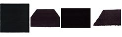 "Bridgeport Home Exact Shag Exs1 Jet Black 8' 2"" x 8' 2"" Square Area Rug"