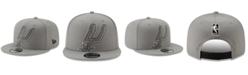 New Era San Antonio Spurs Light It Up Gray 9FIFTY Snapback Cap