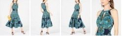 INC International Concepts I.N.C. Peasant Halter Dress, Created for Macy's