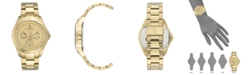 ED Ellen Degeneres Ellen Degeneres Women's Gold Stainless Steel Bracelet Watch 40mm