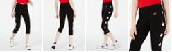 Tommy Hilfiger Star-Trim Cropped Pants