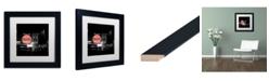 """Trademark Global Coca Cola 'Color Splash Vintage Photography 10' Matted Framed Art - 11"""" x 11"""""""