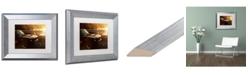 "Trademark Global Jason Shaffer '67 Mustang' Matted Framed Art - 14"" x 11"""