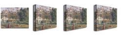 "Trademark Global Camille Pissarro 'Vegetable Garden, Pontoise, 1879' Canvas Art - 32"" x 24"""