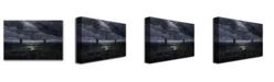 "Trademark Global Caspar Friedrich 'Sea Shore in Moonlight' Canvas Art - 47"" x 35"""