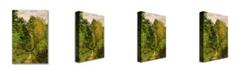 "Trademark Global Claude Monet 'Wooded Path 1865' Canvas Art - 24"" x 18"""