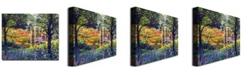 "Trademark Global David Lloyd Glover 'Garden for Dreaming' Canvas Art - 47"" x 35"""