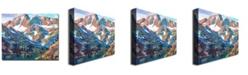 "Trademark Global David Lloyd Glover 'Sierra Nevada Silence' Canvas Art - 32"" x 26"""