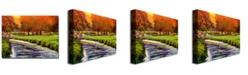 "Trademark Global David Lloyd Glover 'Twilight Golf II' Canvas Art - 32"" x 24"""