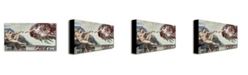 "Trademark Global Michelangelo 'Sistine Chapel Ceiling' Canvas Art - 47"" x 24"""