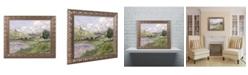 """Trademark Global Monet 'Landscape Vetheuil 1879' Ornate Framed Art - 16"""" x 20"""""""
