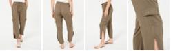 American Rag Juniors' Tulip-Hem Cargo Pants, Created for Macy's