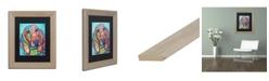 """Trademark Global Dean Russo 'Austin' Matted Framed Art - 11"""" x 14"""""""