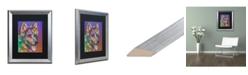 """Trademark Global Dean Russo 'Keefer' Matted Framed Art - 16"""" x 20"""""""