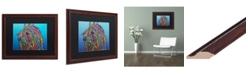 "Trademark Global Dean Russo 'Scarlett' Matted Framed Art - 16"" x 20"""