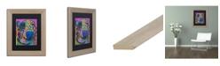 """Trademark Global Dean Russo 'Oliver 16' Matted Framed Art - 11"""" x 14"""""""