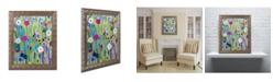 """Trademark Global Carrie Schmitt 'Verdant' Ornate Framed Art - 11"""" x 14"""""""