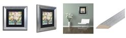 "Trademark Global Carrie Schmitt 'Bask In The Beauty Of It All' Matted Framed Art - 11"" x 11"""