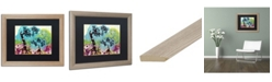 "Trademark Global Natasha Wescoat '032' Matted Framed Art - 16"" x 20"""