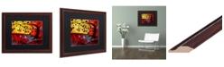 "Trademark Global Natasha Wescoat '071' Matted Framed Art - 16"" x 20"""