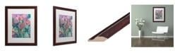 """Trademark Global Carrie Schmitt 'Persistence' Matted Framed Art - 16"""" x 20"""""""