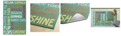 """Kaleen Escape ESC12-81 Emerald 5' x 7'6"""" Area Rug"""