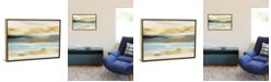 """iCanvas Golden Sunset by Nan Gallery-Wrapped Canvas Print - 26"""" x 40"""" x 0.75"""""""