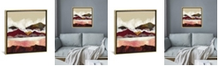 """iCanvas Melon Mountains by Spacefrog Designs Gallery-Wrapped Canvas Print - 37"""" x 37"""" x 0.75"""""""