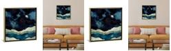 "iCanvas Indigo Sky by Spacefrog Designs Gallery-Wrapped Canvas Print - 18"" x 18"" x 0.75"""
