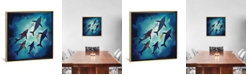 """iCanvas Light Above by Spacefrog Designs Gallery-Wrapped Canvas Print - 18"""" x 18"""" x 0.75"""""""