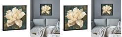 "iCanvas Gardenia Blossom Turquoise by Albena Hristova Gallery-Wrapped Canvas Print - 18"" x 18"" x 0.75"""