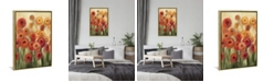 "iCanvas Ranunculi Field Ii by Silvia Vassileva Gallery-Wrapped Canvas Print - 26"" x 18"" x 0.75"""