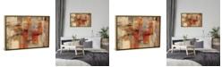 "iCanvas City Wall by Silvia Vassileva Gallery-Wrapped Canvas Print - 18"" x 26"" x 0.75"""
