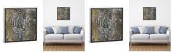 "iCanvas Vintage Chandelier Ii by Silvia Vassileva Gallery-Wrapped Canvas Print - 37"" x 37"" x 0.75"""