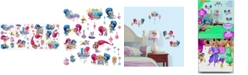 York Wallcoverings Shimmer and Shine Peel and Stick Wall Decals