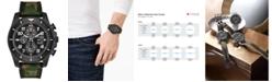 Citizen Eco-Drive Men's Chronograph Promaster Tough Camouflage Fabric Strap Watch 44mm