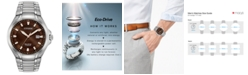 Citizen Eco-Drive Men's Paradigm Stainless Steel Bracelet Watch 43mm