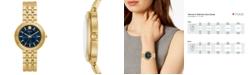 Tory Burch Women's Bailey Gold-Tone Stainless Steel Bracelet Watch 34mm