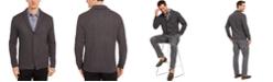 Tasso Elba Men's Zig-Zag Shawl-Collar Cardigan, Created for Macy's