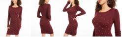 Planet Gold Juniors' Studded Bodycon Dress