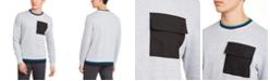 Alfani Men's Utility Pocket Crewneck Sweatshirt, Created for Macy's