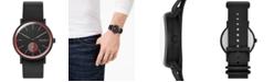 Skagen Men's Signatur Field Black Silicone Strap Watch 42mm