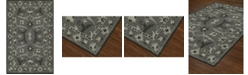 D Style CLOSEOUT! Torrey Tor6 Graphite 8' X 10' Area Rugs