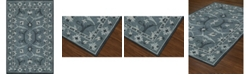 "D Style CLOSEOUT! Torrey Tor6 Slate 3'6"" x 5'6"" Area Rugs"