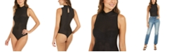 INC International Concepts INC Shadow Stripe Thong Bodysuit, Created For Macy's