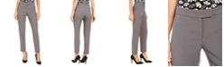 Anne Klein Bowie Straight-Leg Dress Pants