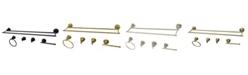 Kingston Brass Dual-Towel Bar 5-Pc. Bathroom Accessory Set