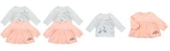 Mac & Moon Baby Girl 2-Pack Fashion Tees